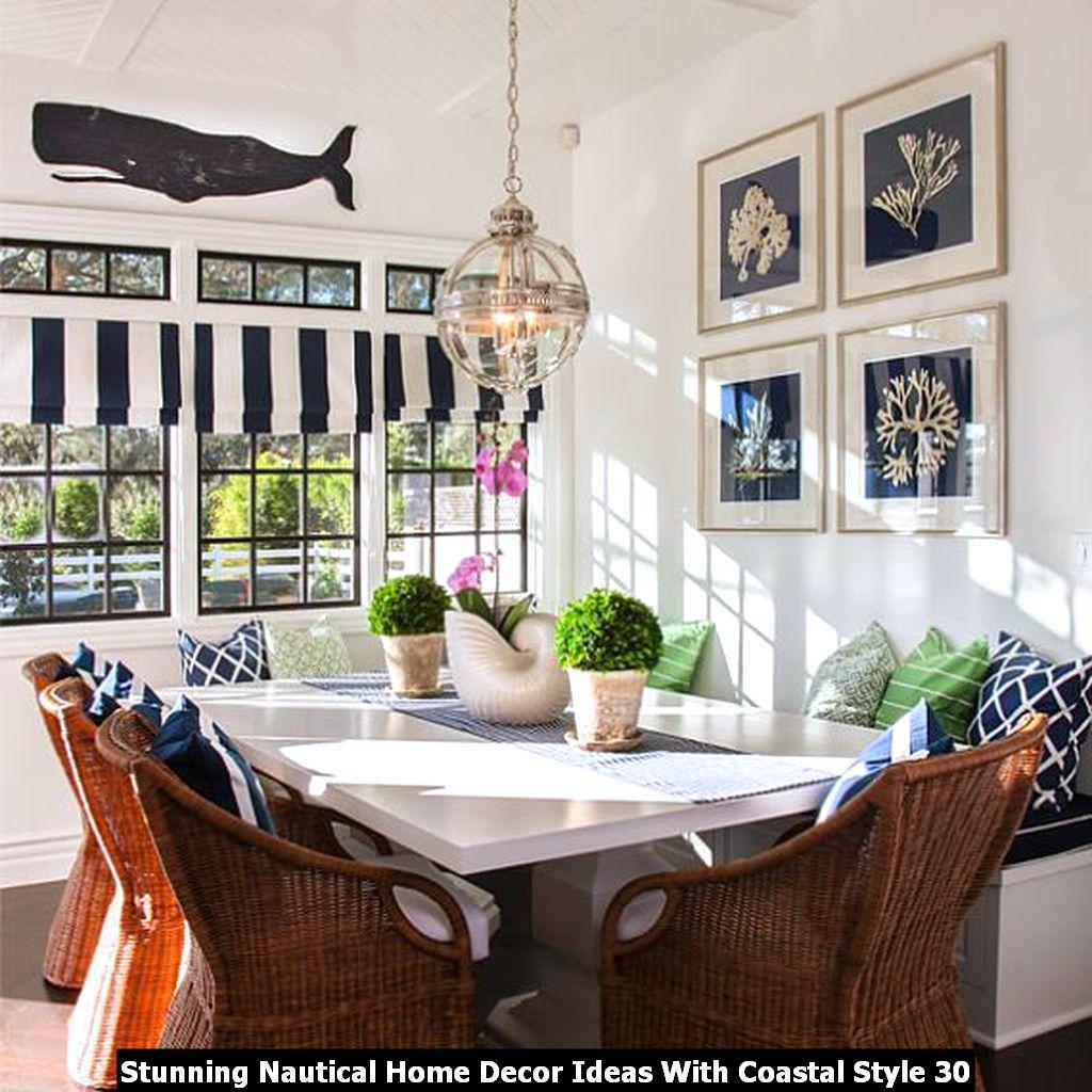 Stunning Nautical Home Decor Ideas With Coastal Style 30