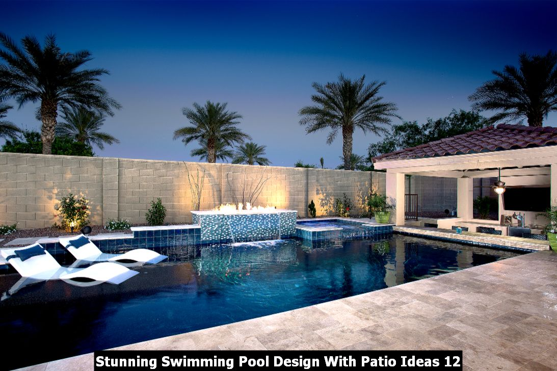 Stunning Swimming Pool Design With Patio Ideas 12
