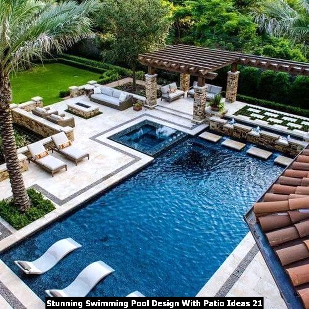 Stunning Swimming Pool Design With Patio Ideas 21