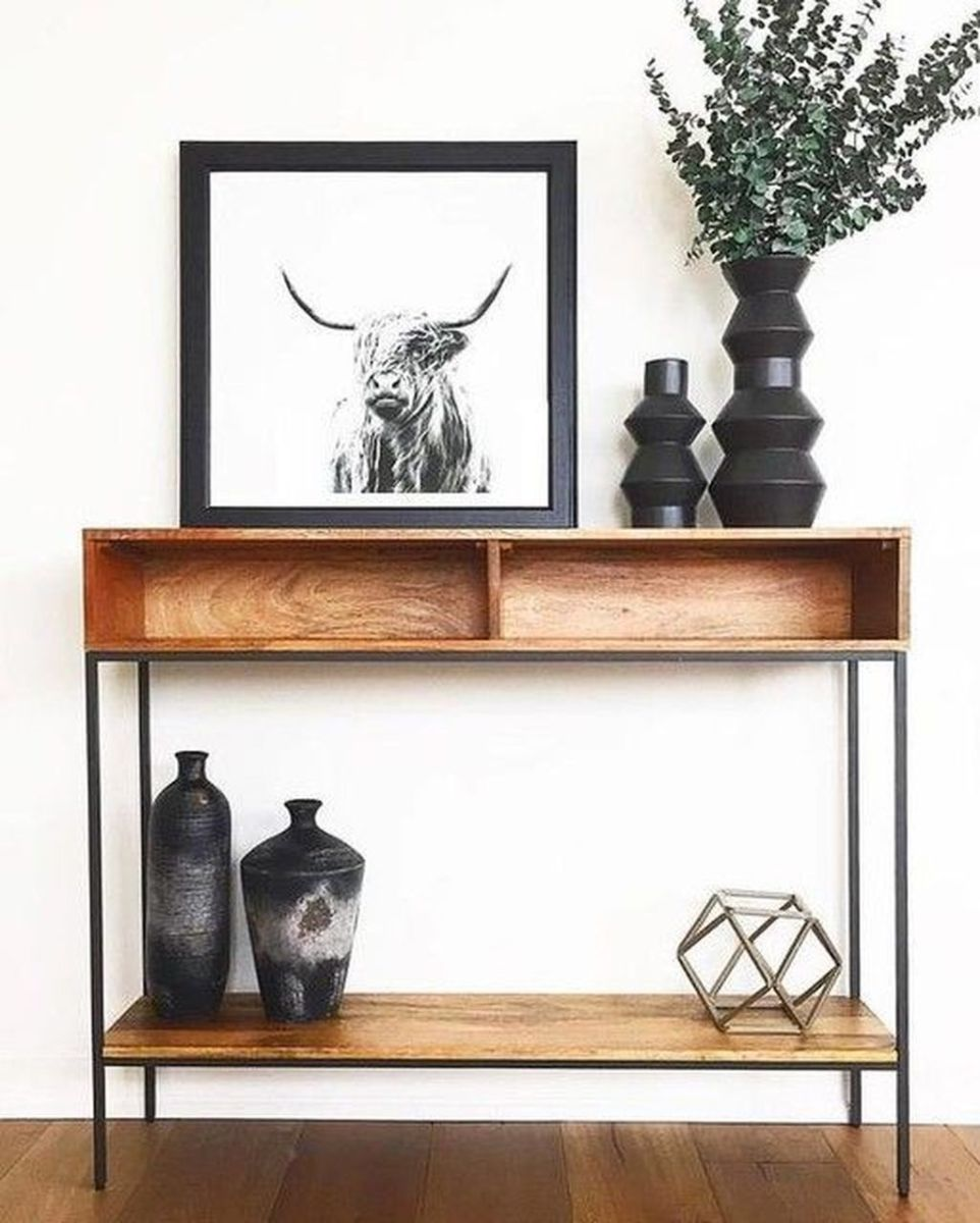 Stylish Console Table Design Ideas You Must Have 13