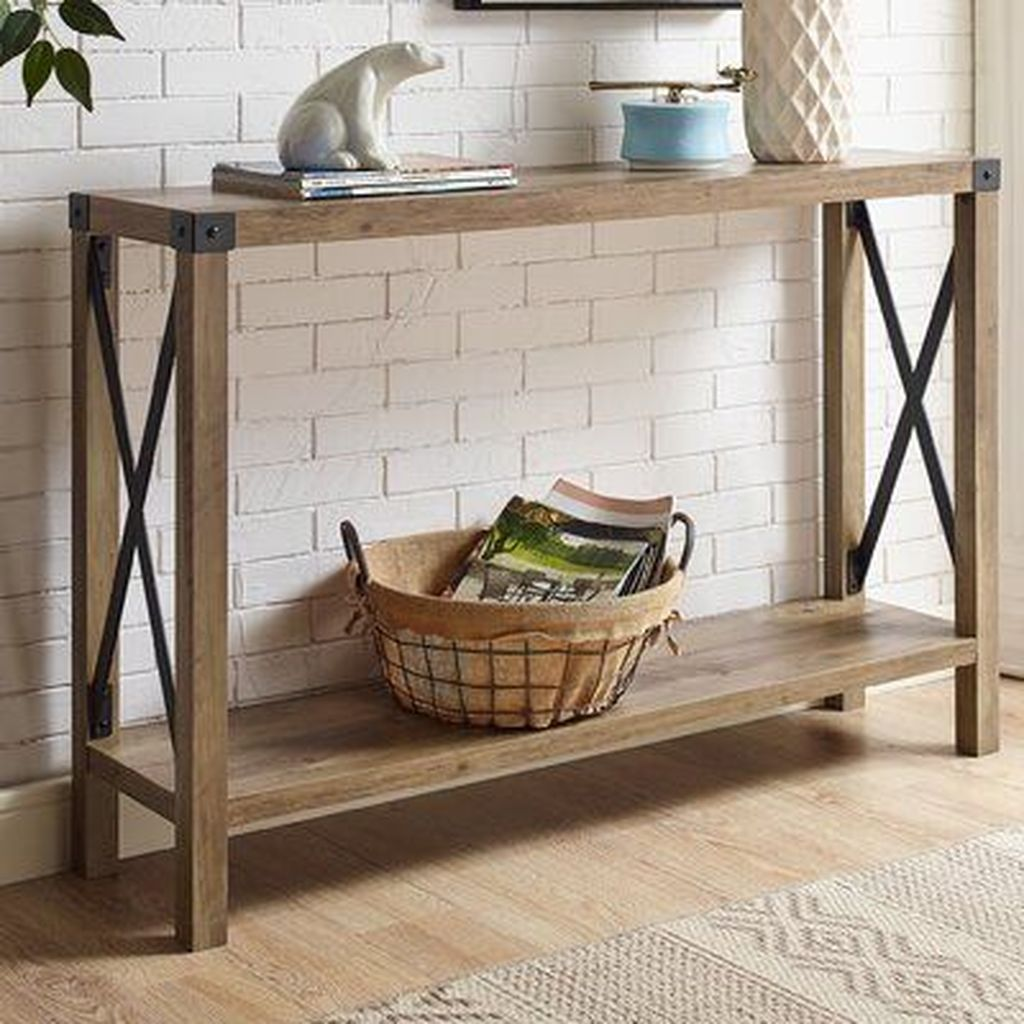 Stylish Console Table Design Ideas You Must Have 17