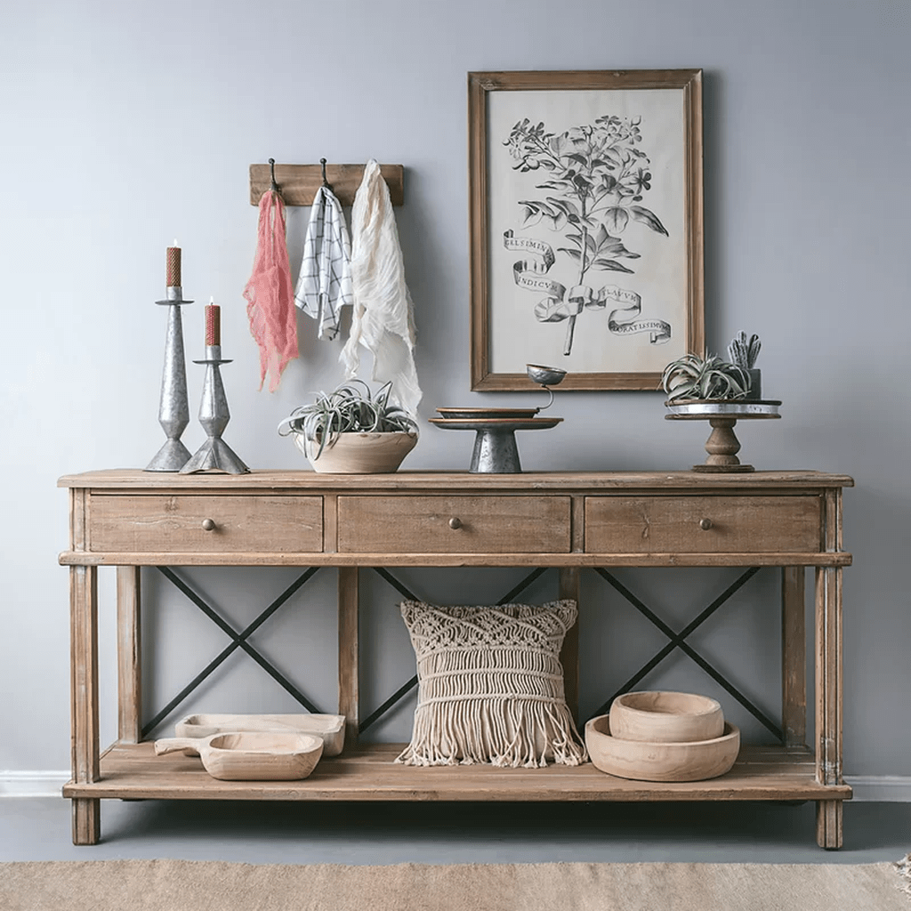 Stylish Console Table Design Ideas You Must Have 19