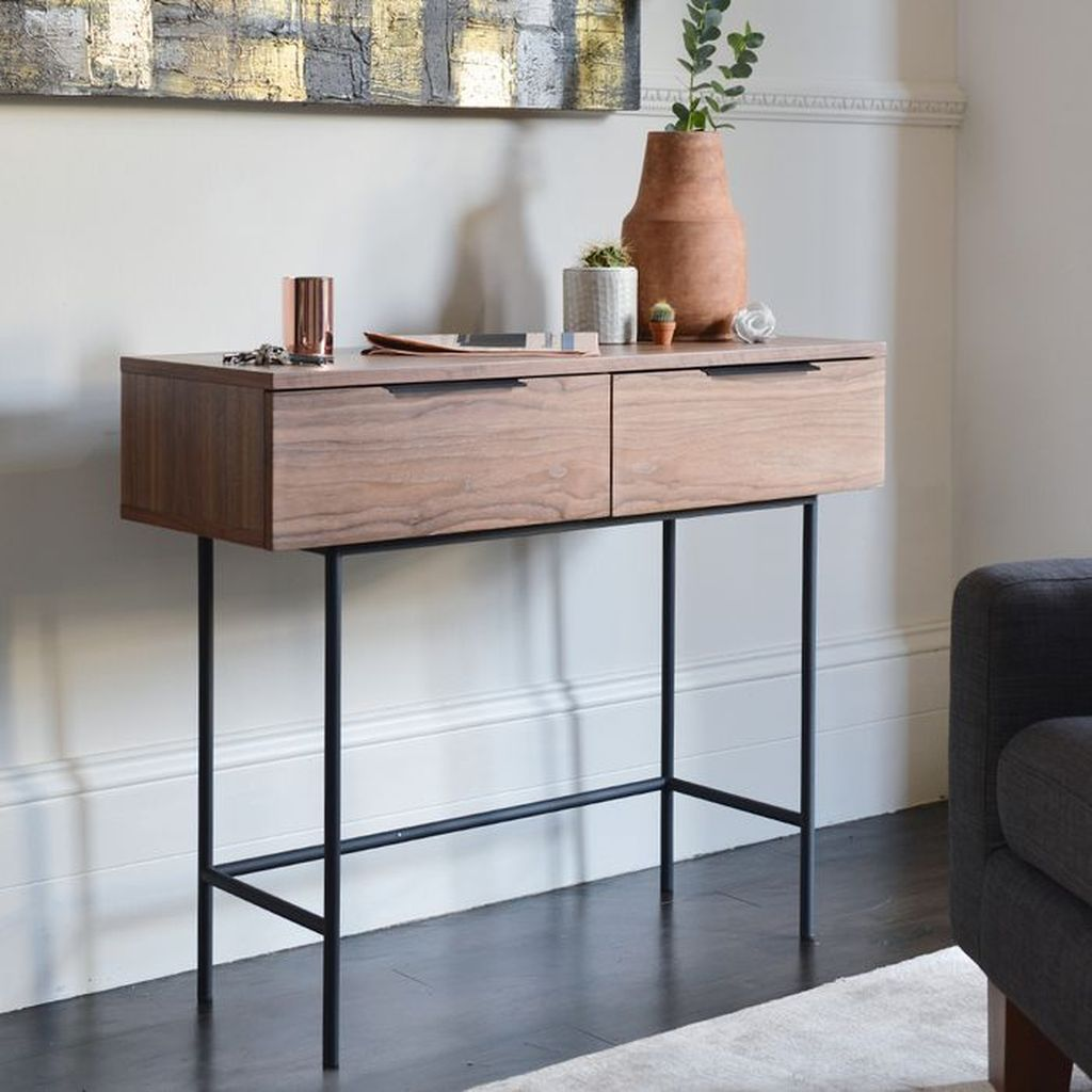 Stylish Console Table Design Ideas You Must Have 28