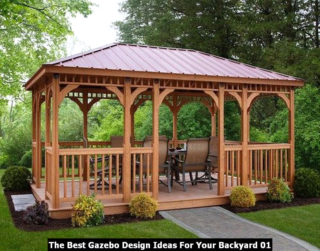 The Best Gazebo Design Ideas For Your Backyard 01