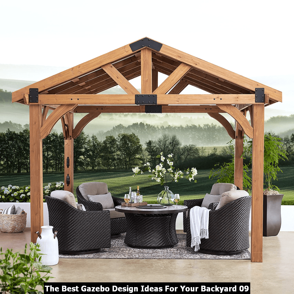 The Best Gazebo Design Ideas For Your Backyard 09