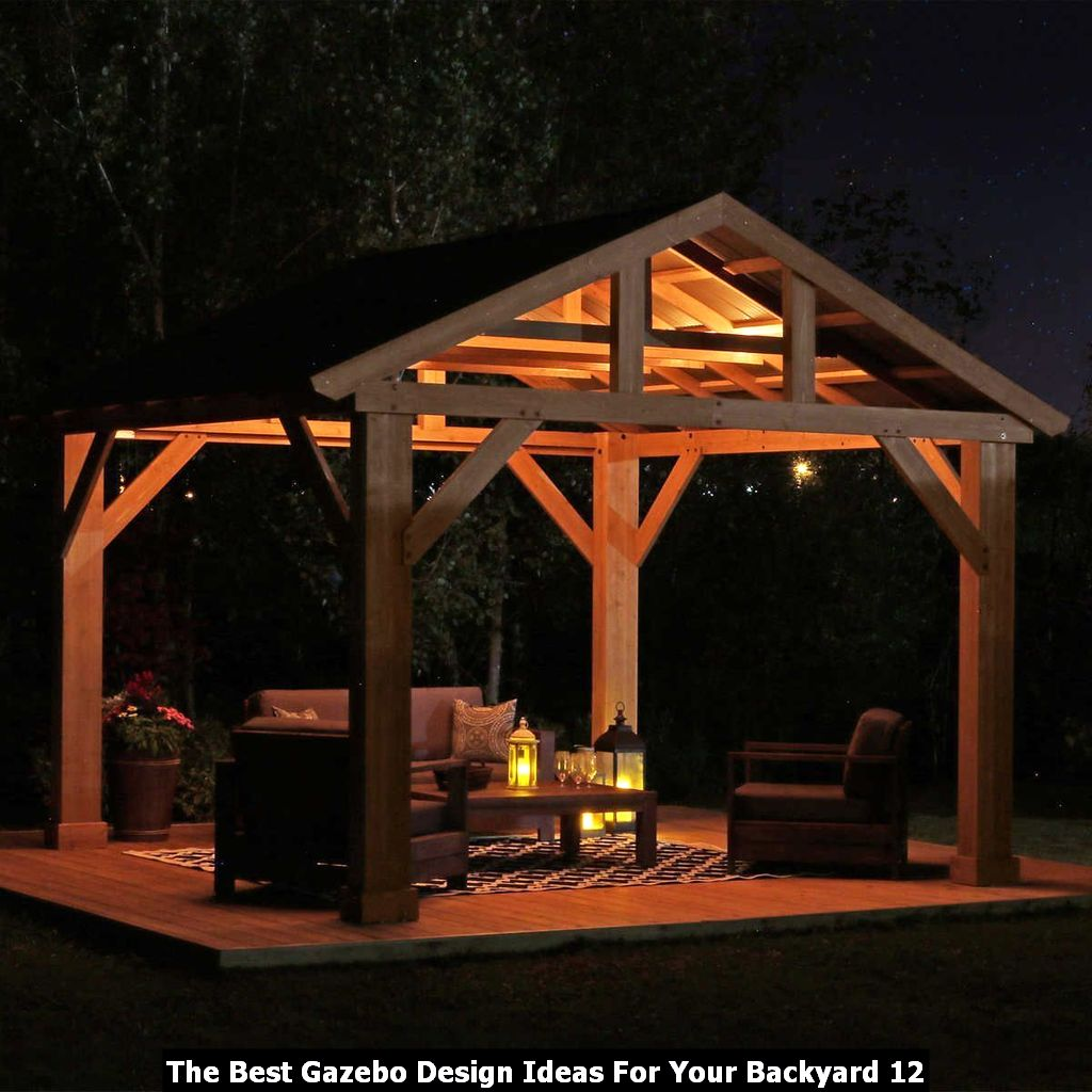 The Best Gazebo Design Ideas For Your Backyard 12