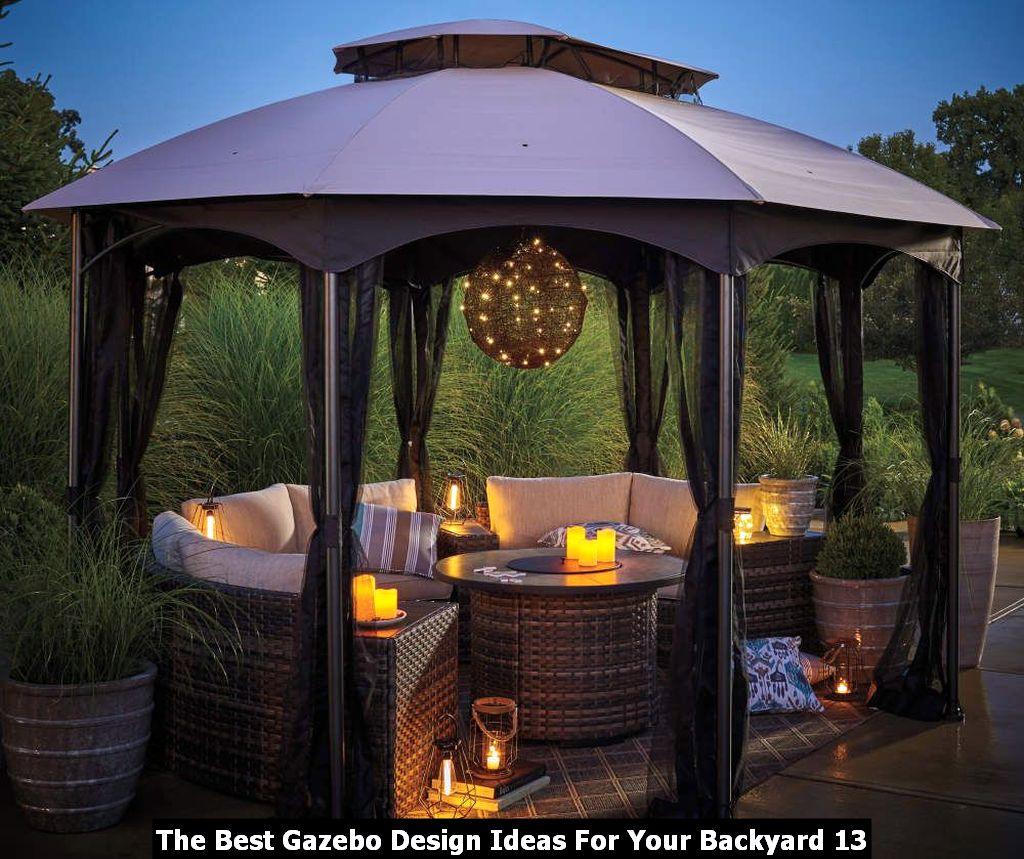 The Best Gazebo Design Ideas For Your Backyard 13