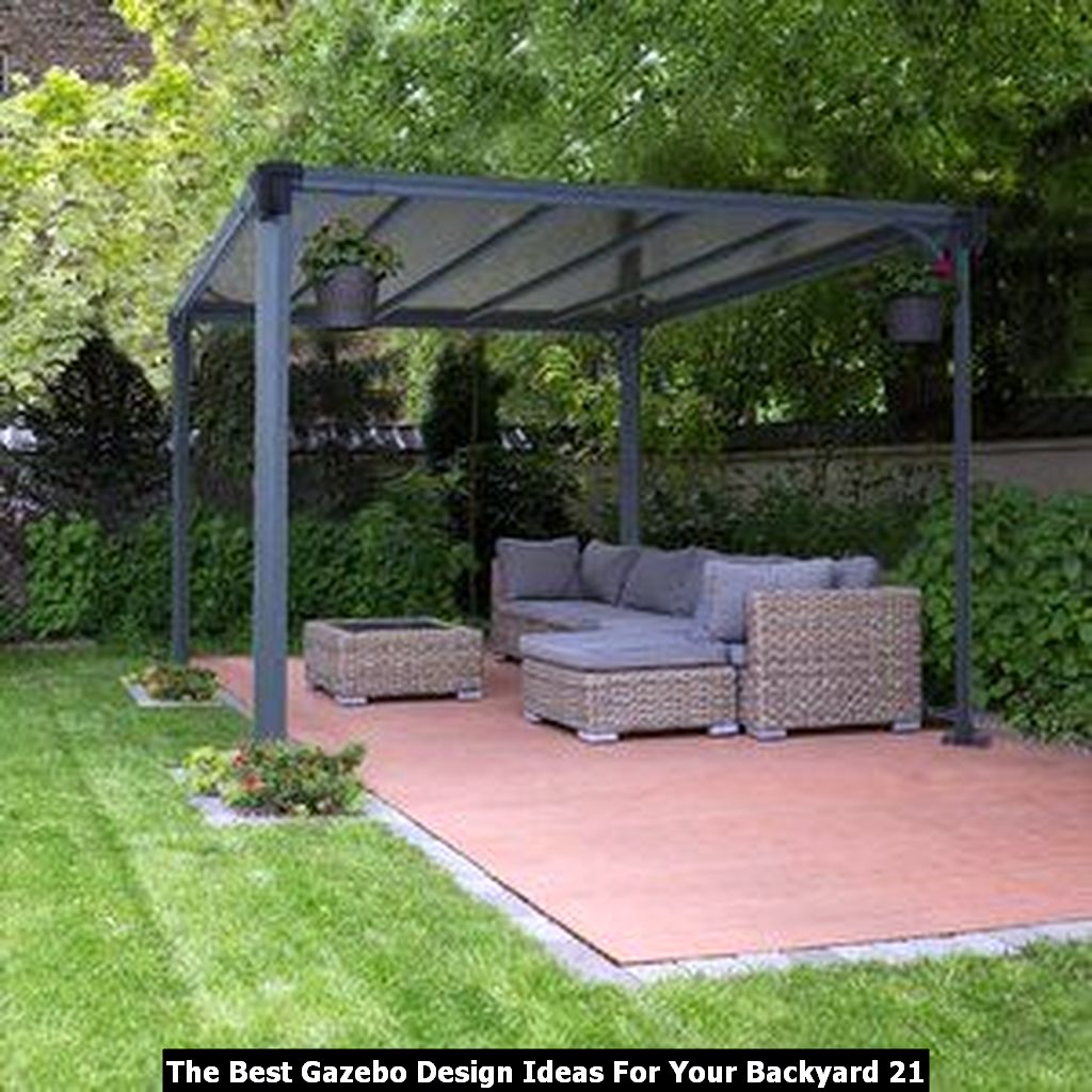 The Best Gazebo Design Ideas For Your Backyard 21