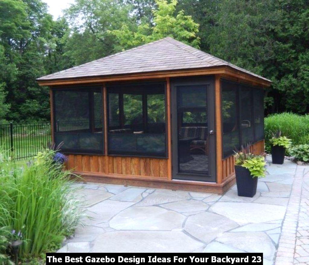 The Best Gazebo Design Ideas For Your Backyard 23
