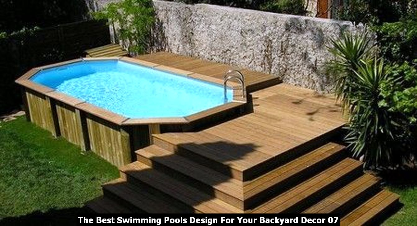 The Best Swimming Pools Design For Your Backyard Decor 07