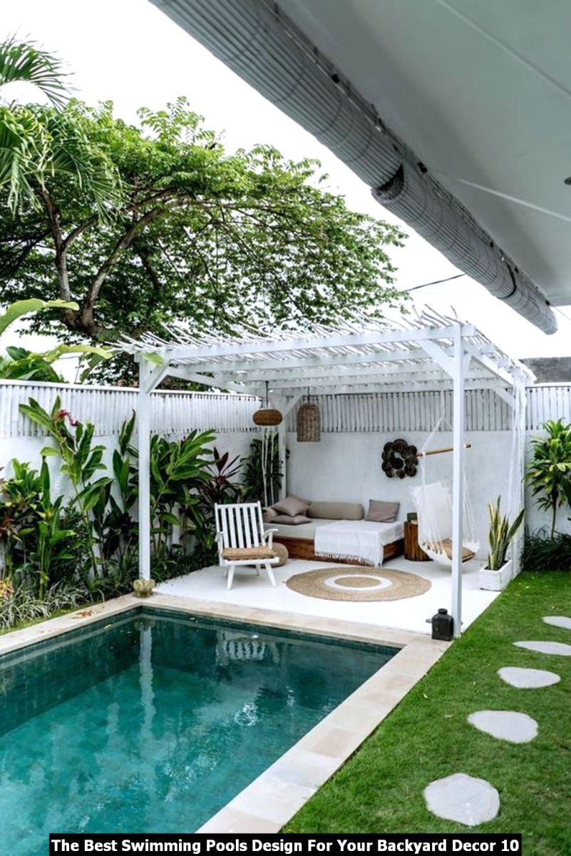 The Best Swimming Pools Design For Your Backyard Decor 10