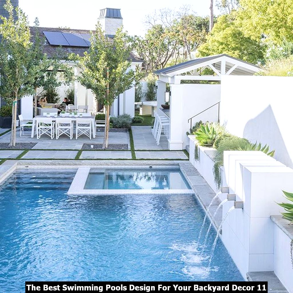 The Best Swimming Pools Design For Your Backyard Decor 11
