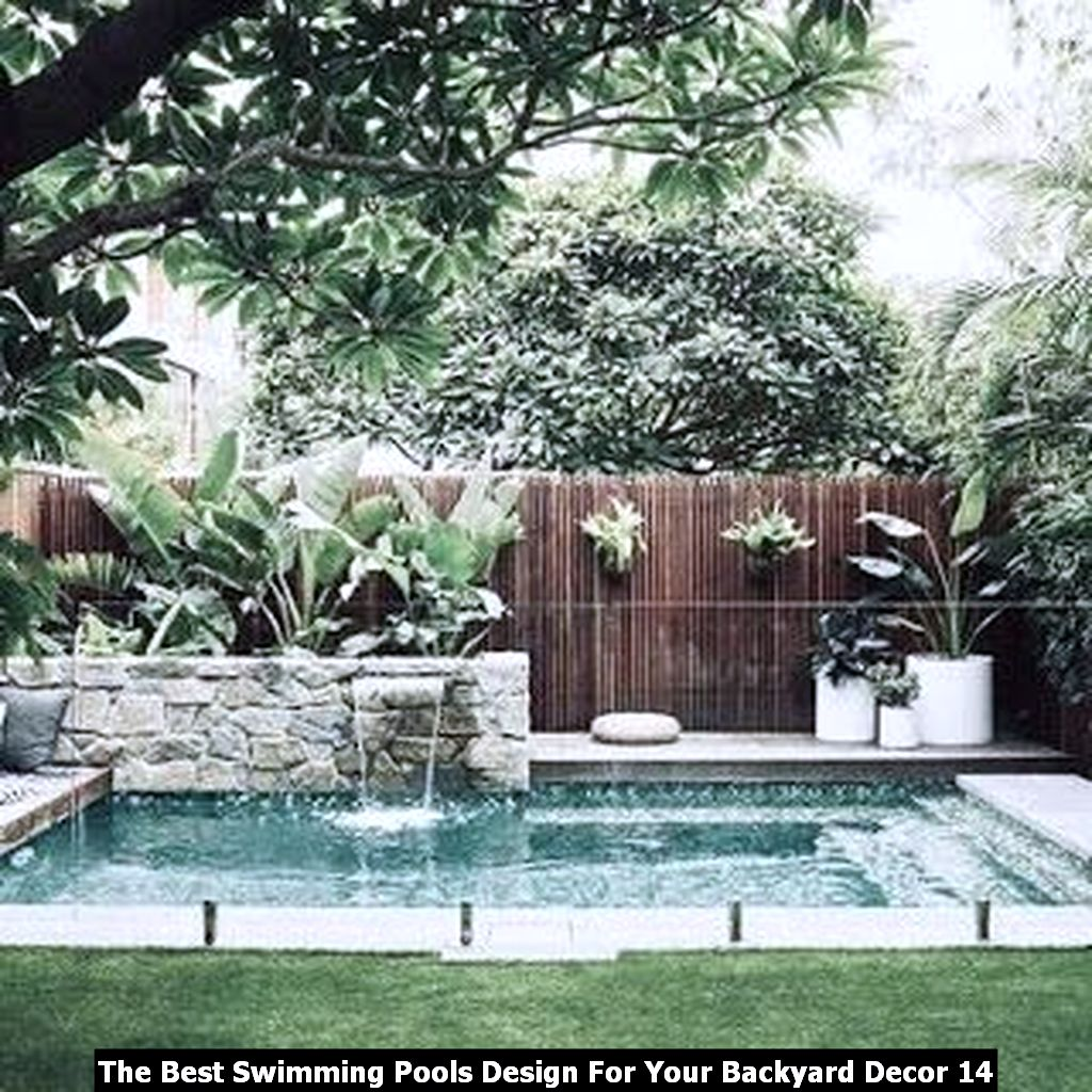 The Best Swimming Pools Design For Your Backyard Decor 14