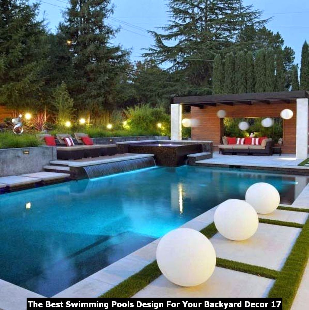 The Best Swimming Pools Design For Your Backyard Decor 17