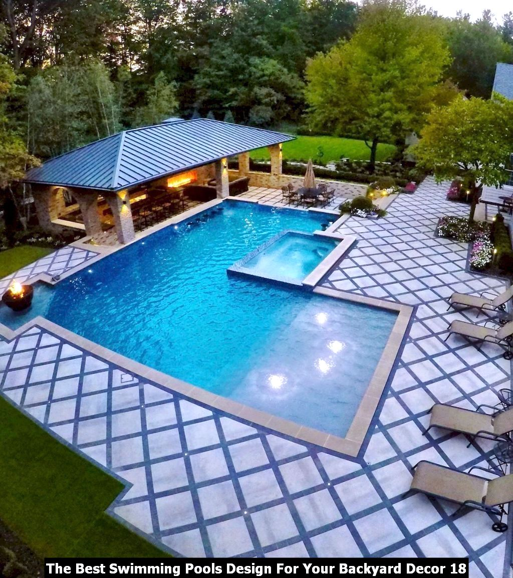 The Best Swimming Pools Design For Your Backyard Decor 18