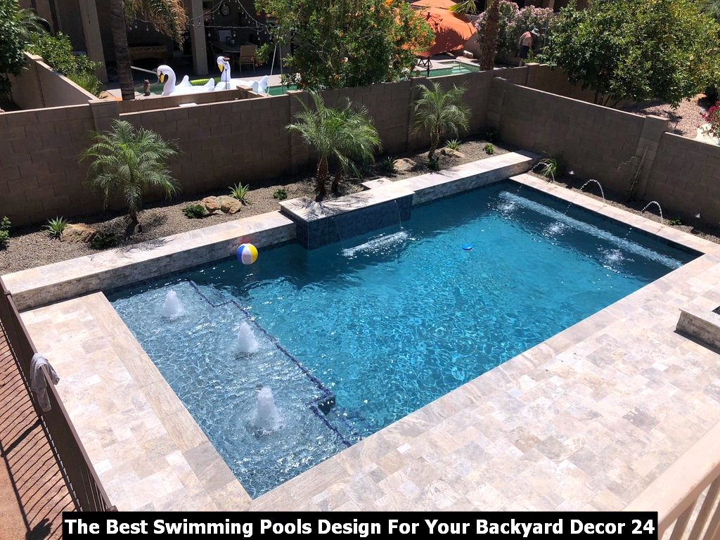 The Best Swimming Pools Design For Your Backyard Decor 24