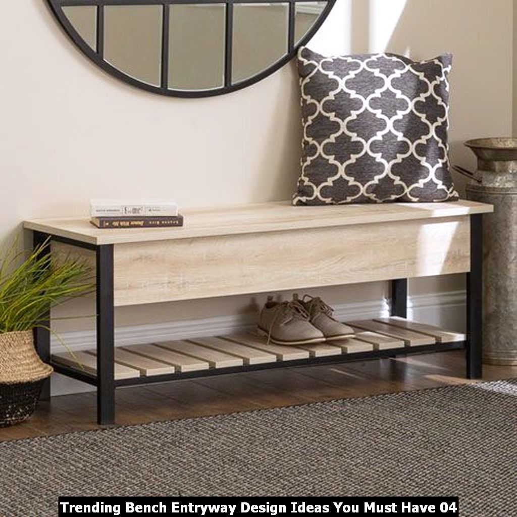 Trending Bench Entryway Design Ideas You Must Have 04
