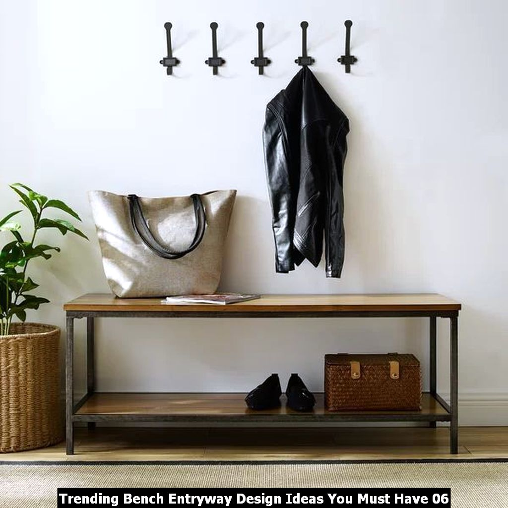 Trending Bench Entryway Design Ideas You Must Have 06