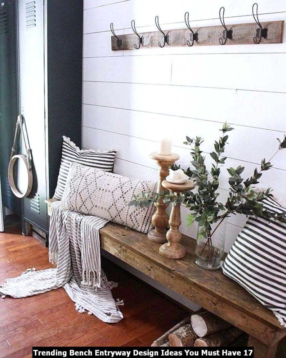 Trending Bench Entryway Design Ideas You Must Have 17