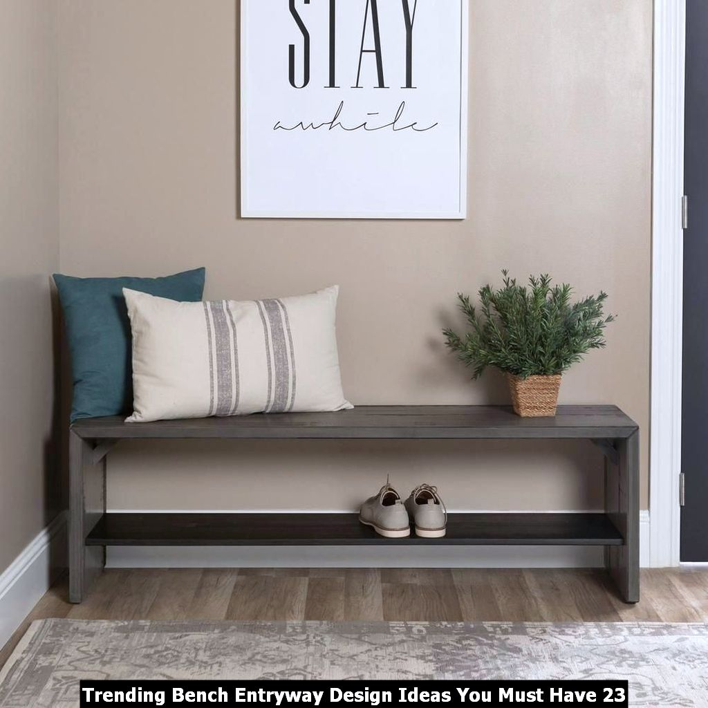 Trending Bench Entryway Design Ideas You Must Have 23