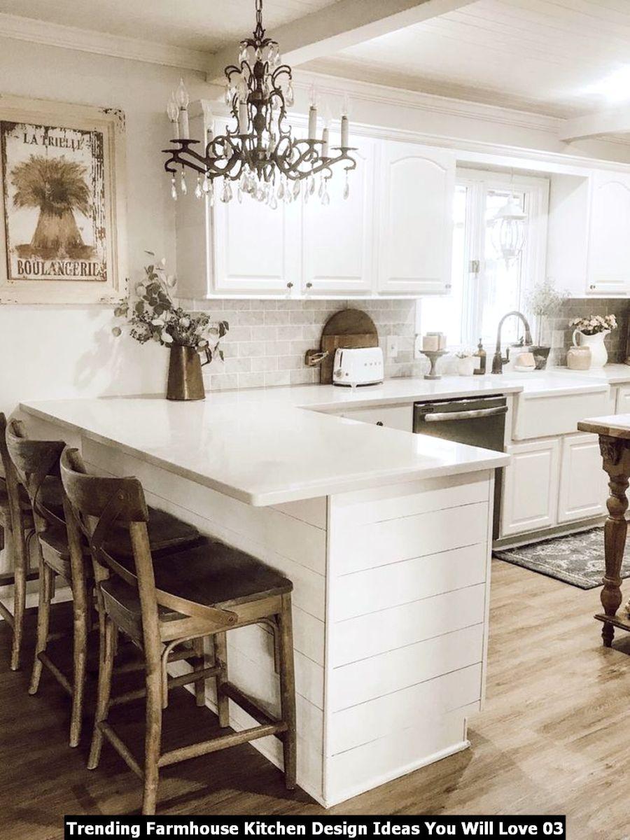Trending Farmhouse Kitchen Design Ideas You Will Love 03