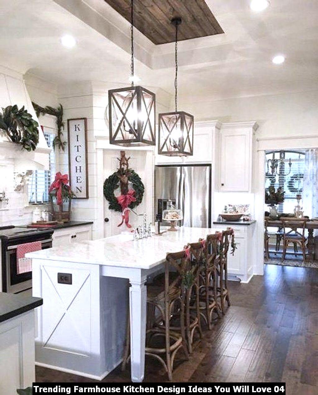 Trending Farmhouse Kitchen Design Ideas You Will Love 04