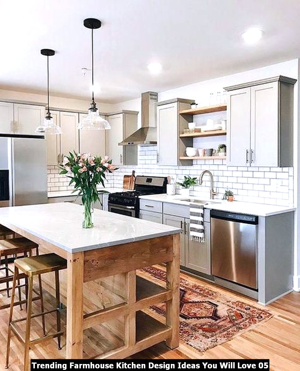 Trending Farmhouse Kitchen Design Ideas You Will Love 05