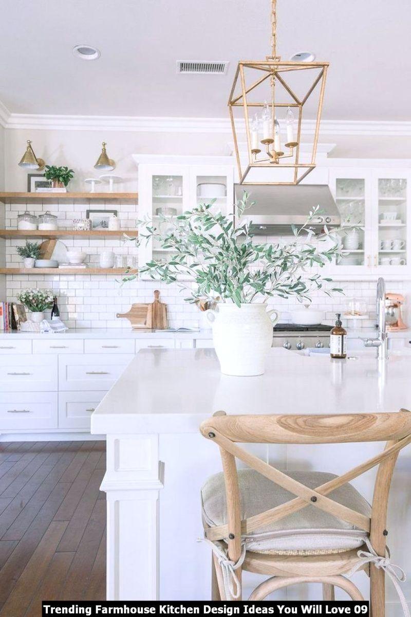 Trending Farmhouse Kitchen Design Ideas You Will Love 09
