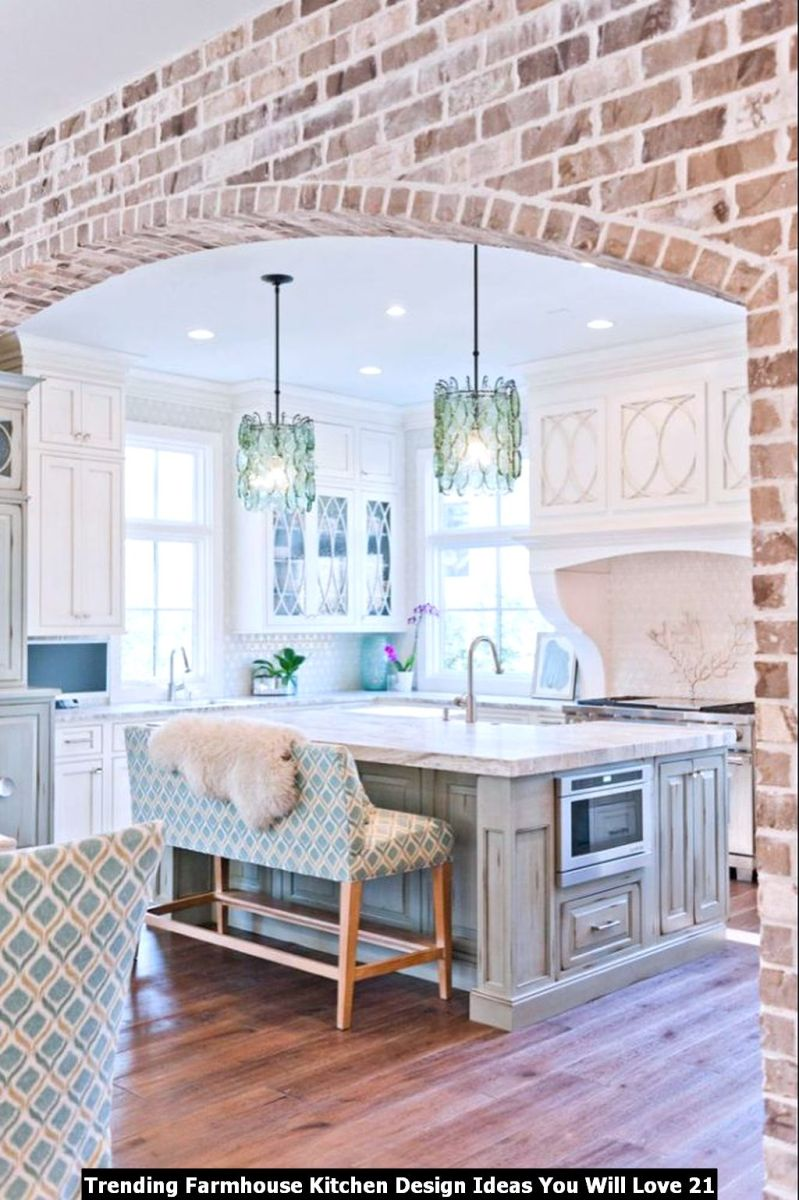 Trending Farmhouse Kitchen Design Ideas You Will Love 21