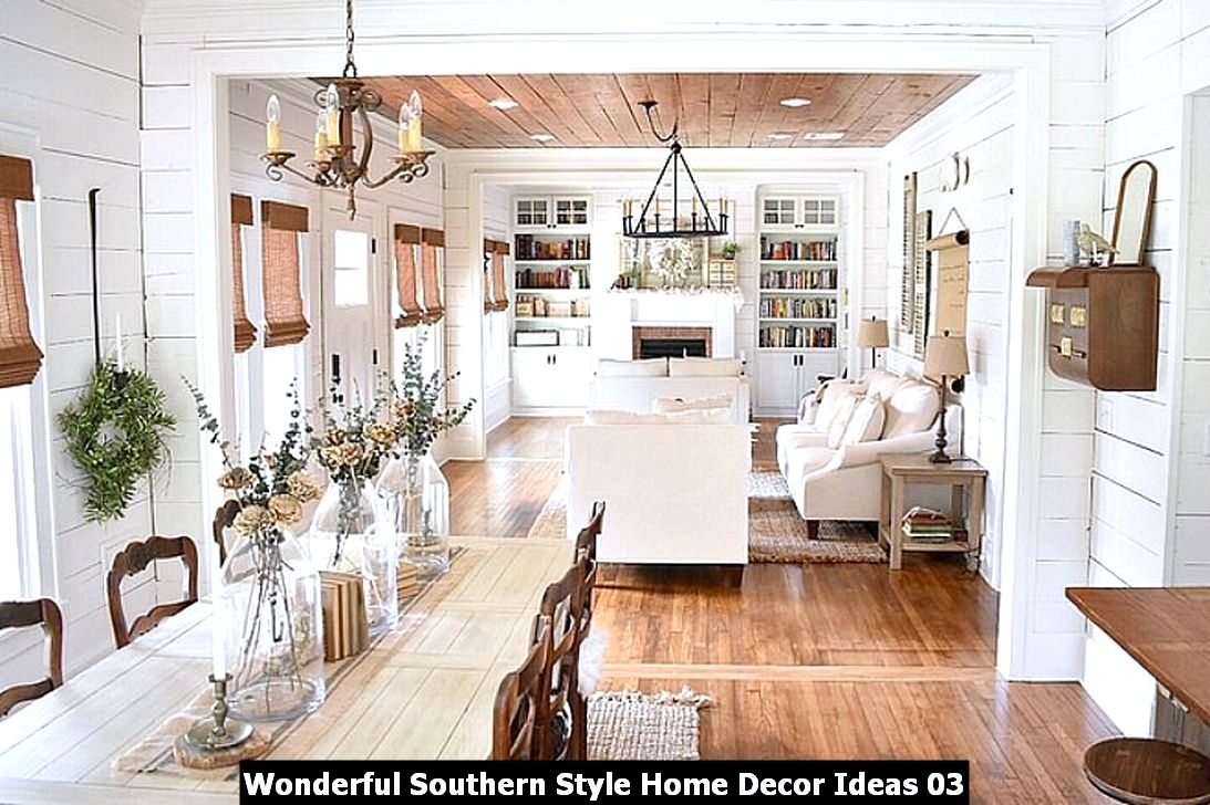Wonderful Southern Style Home Decor Ideas 03