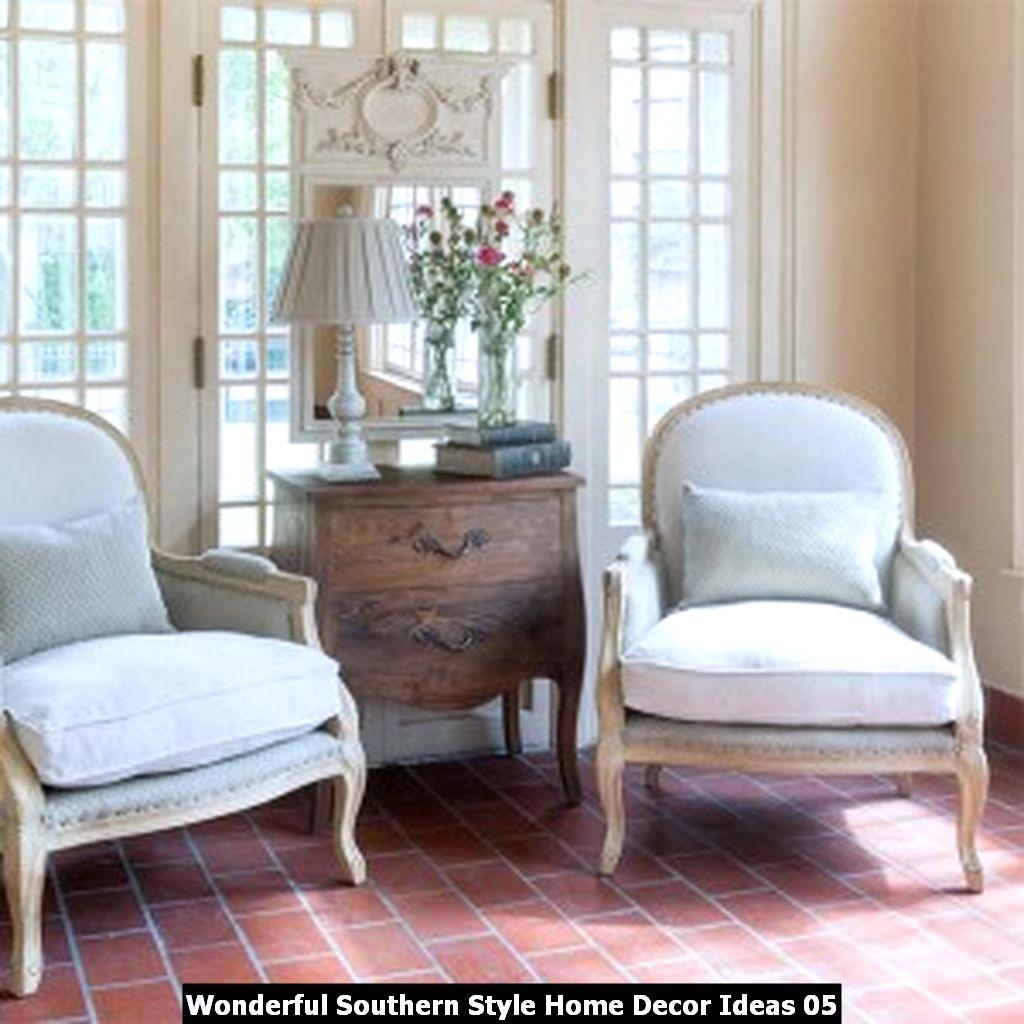 Wonderful Southern Style Home Decor Ideas 05