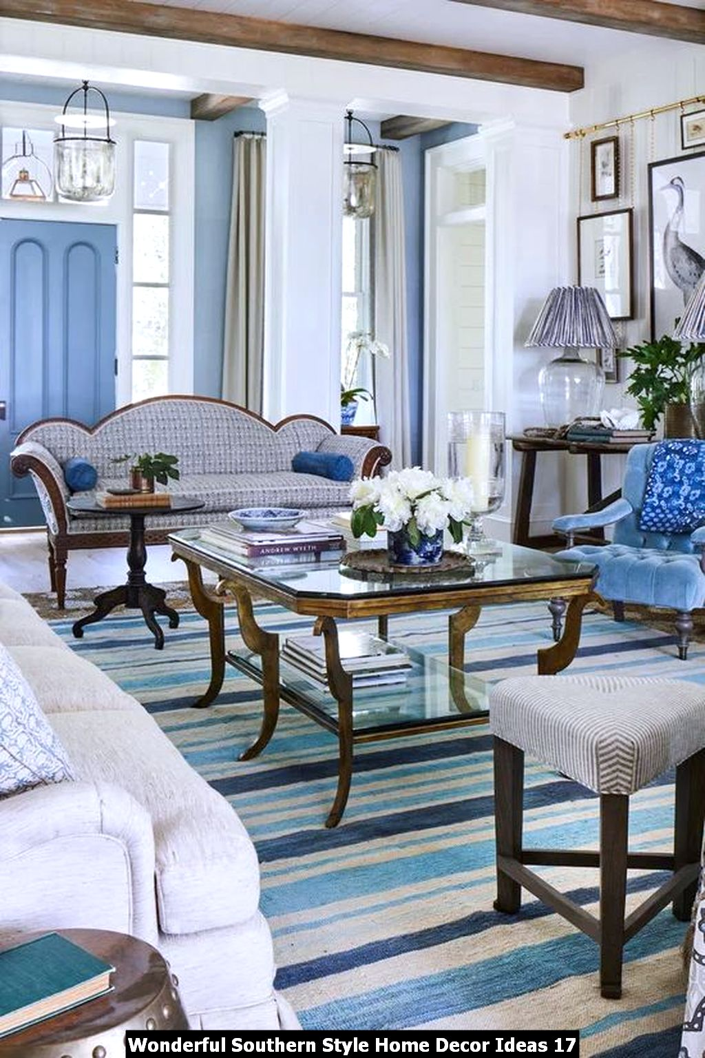 Wonderful Southern Style Home Decor Ideas 17