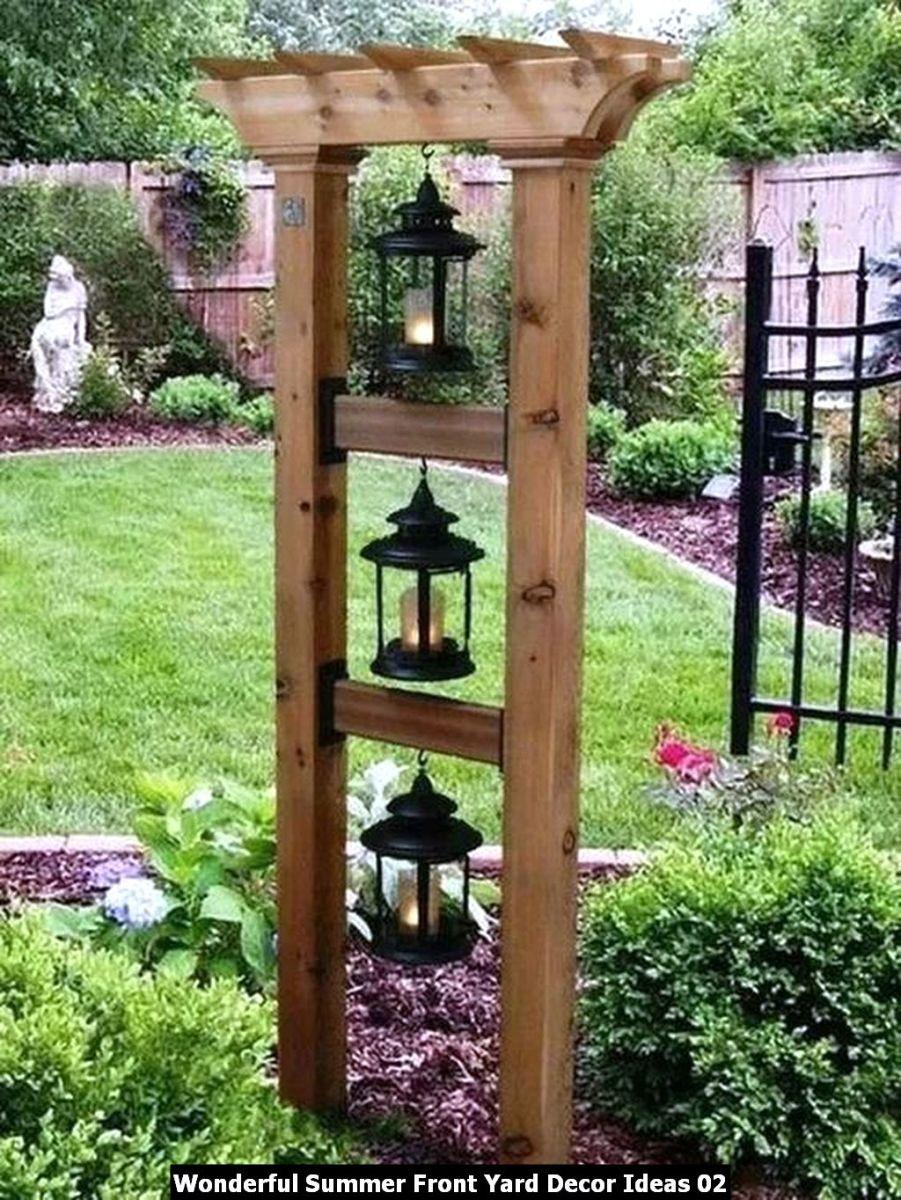 Wonderful Summer Front Yard Decor Ideas 02