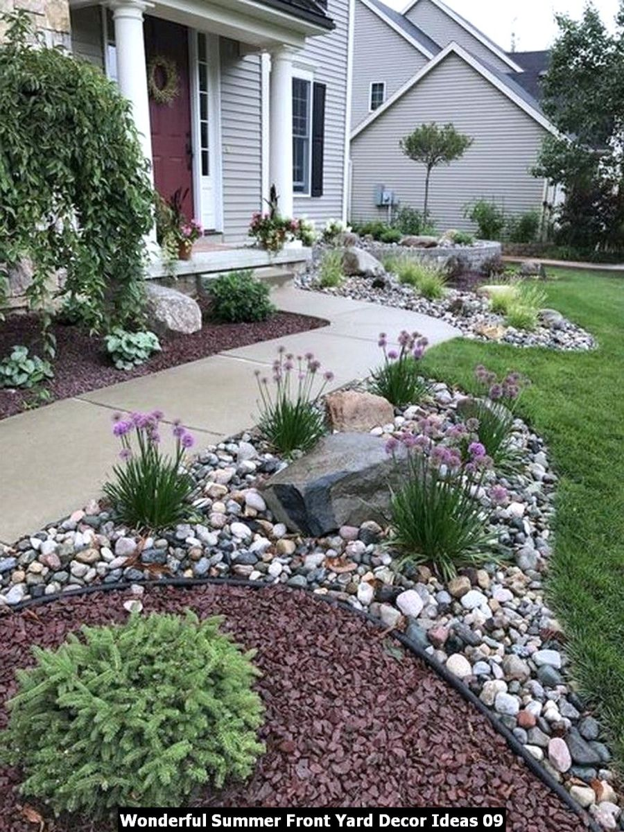 Wonderful Summer Front Yard Decor Ideas 09