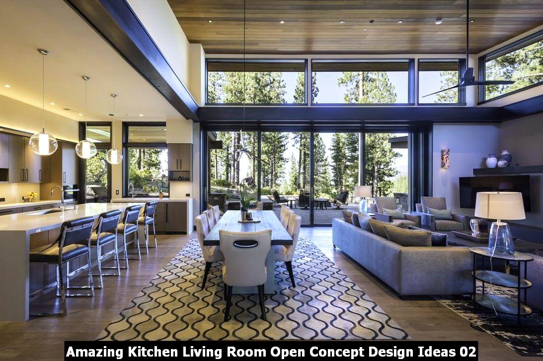 Amazing Kitchen Living Room Open Concept Design Ideas 02
