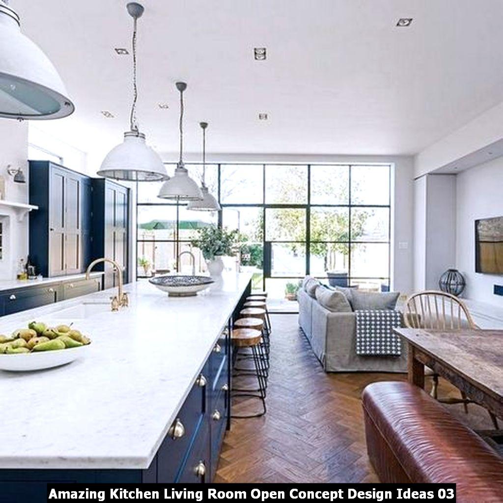 Amazing Kitchen Living Room Open Concept Design Ideas 03