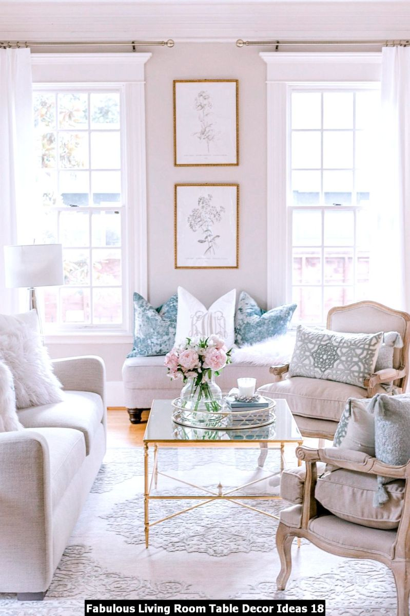 Fabulous Living Room Table Decor Ideas 18