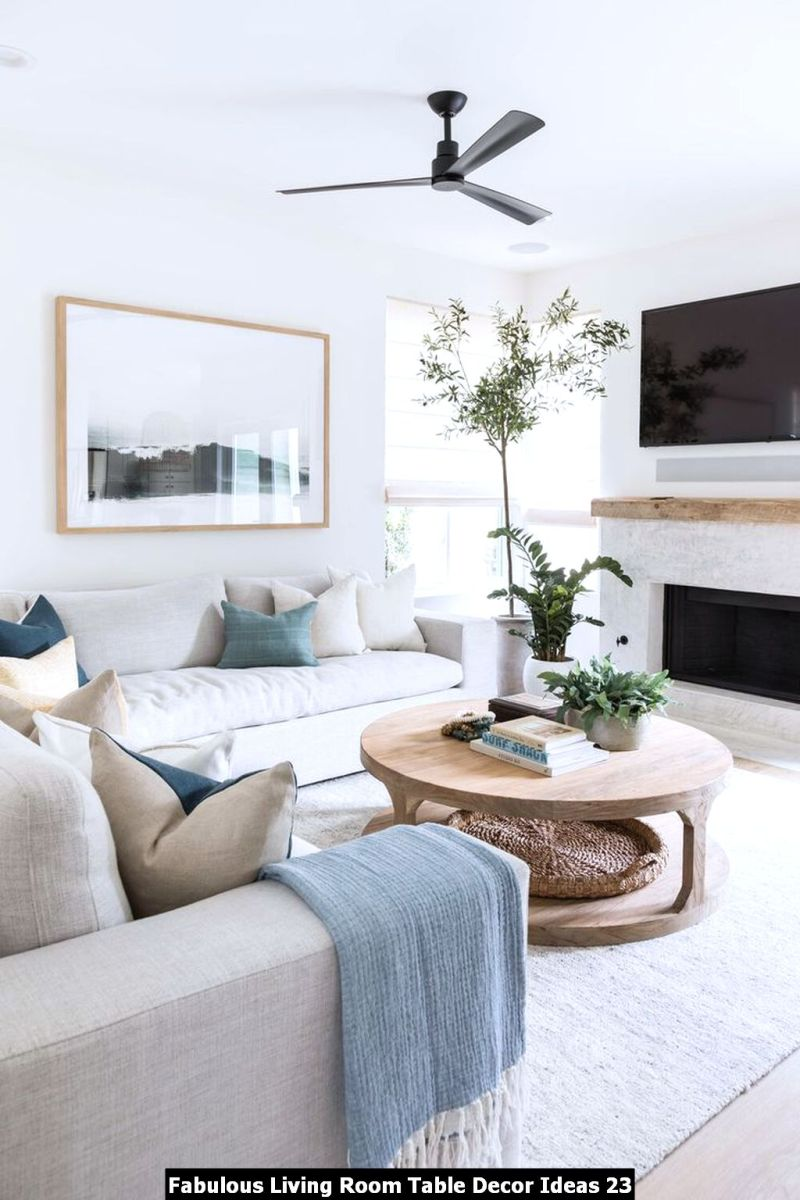 Fabulous Living Room Table Decor Ideas 23