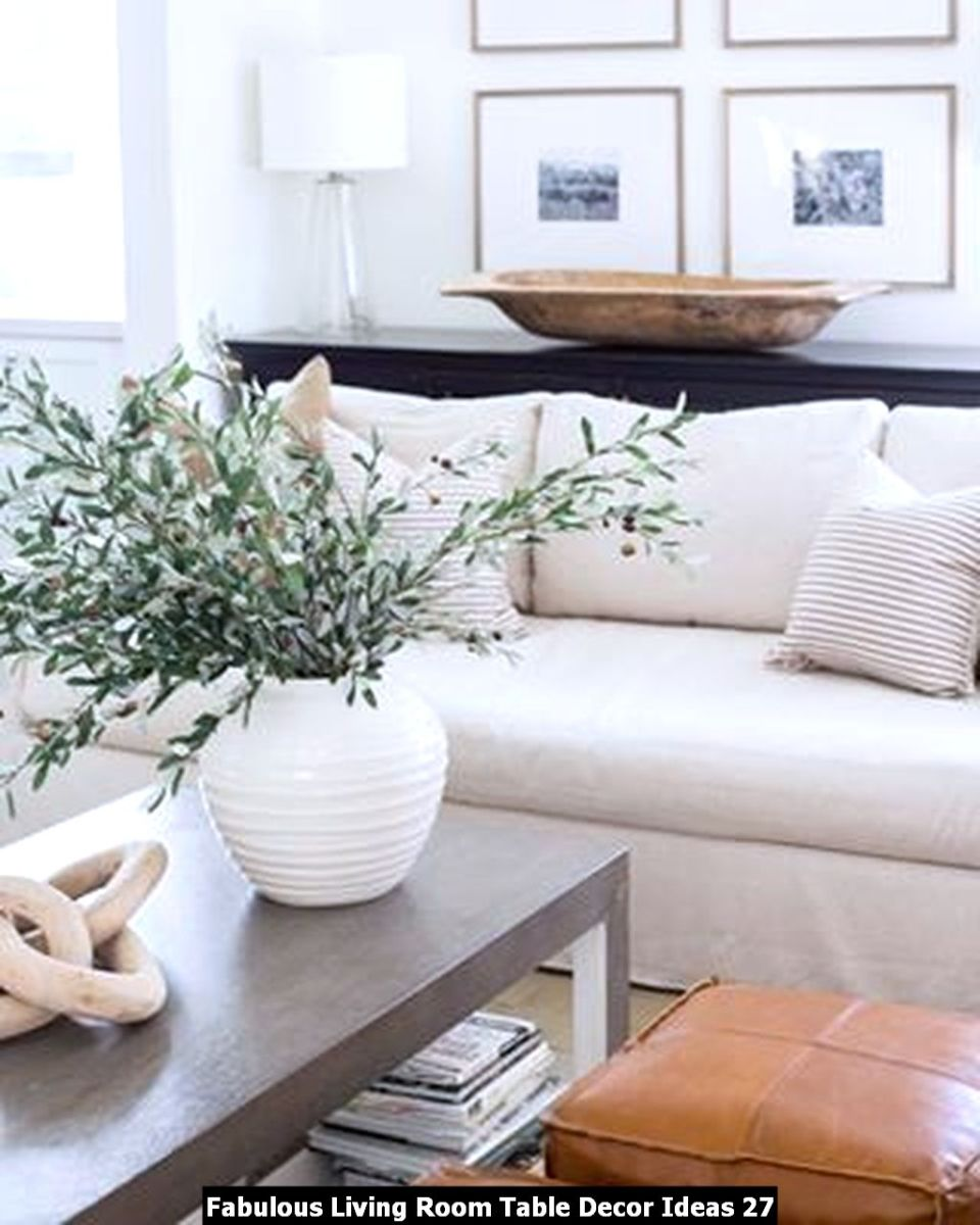 Fabulous Living Room Table Decor Ideas 27