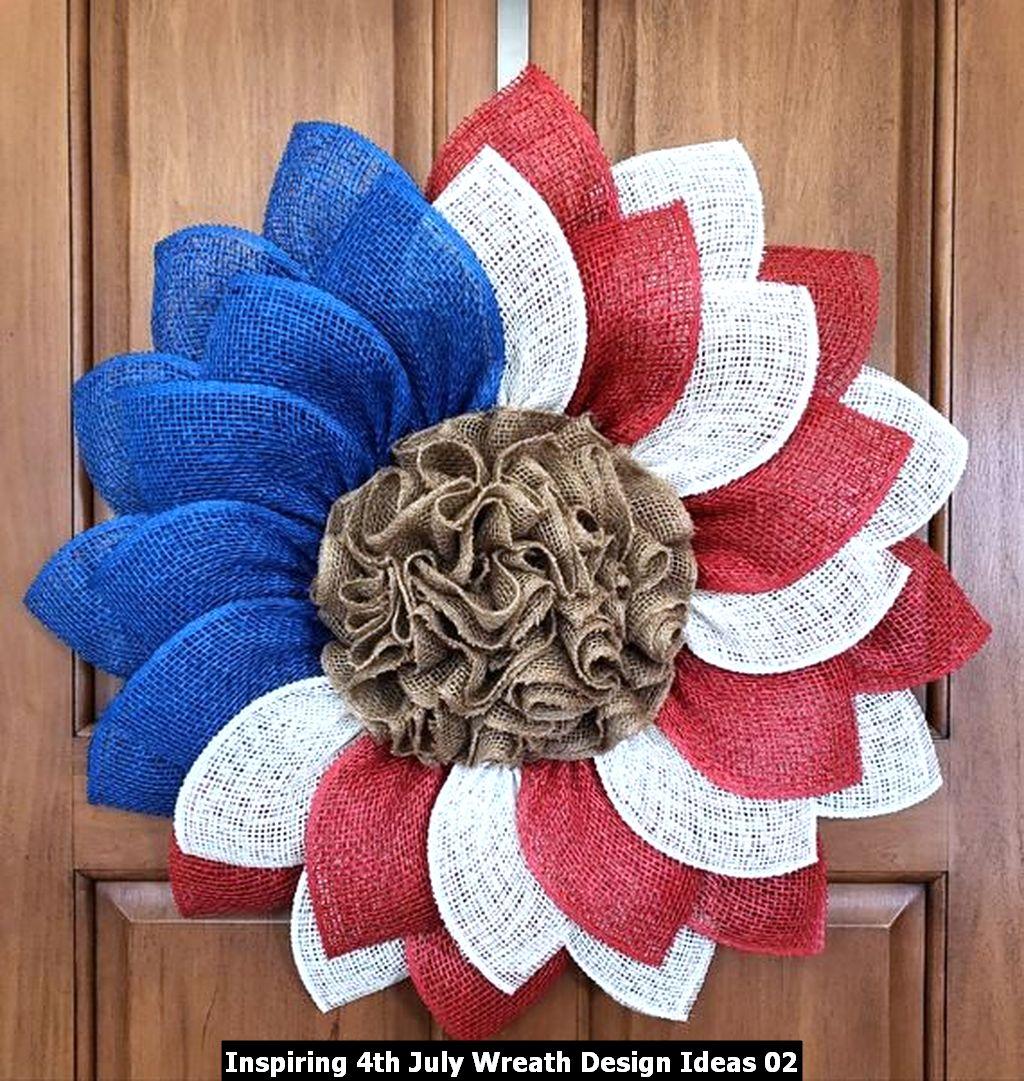 Inspiring 4th July Wreath Design Ideas 02