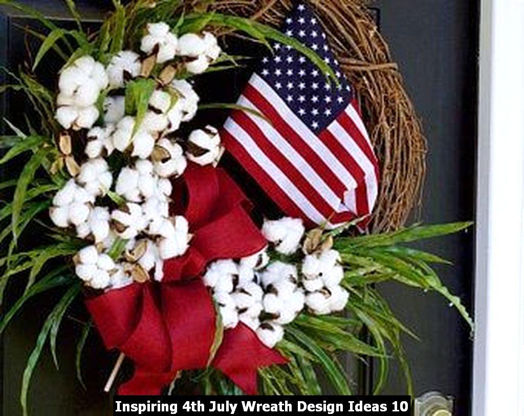 Inspiring 4th July Wreath Design Ideas 10
