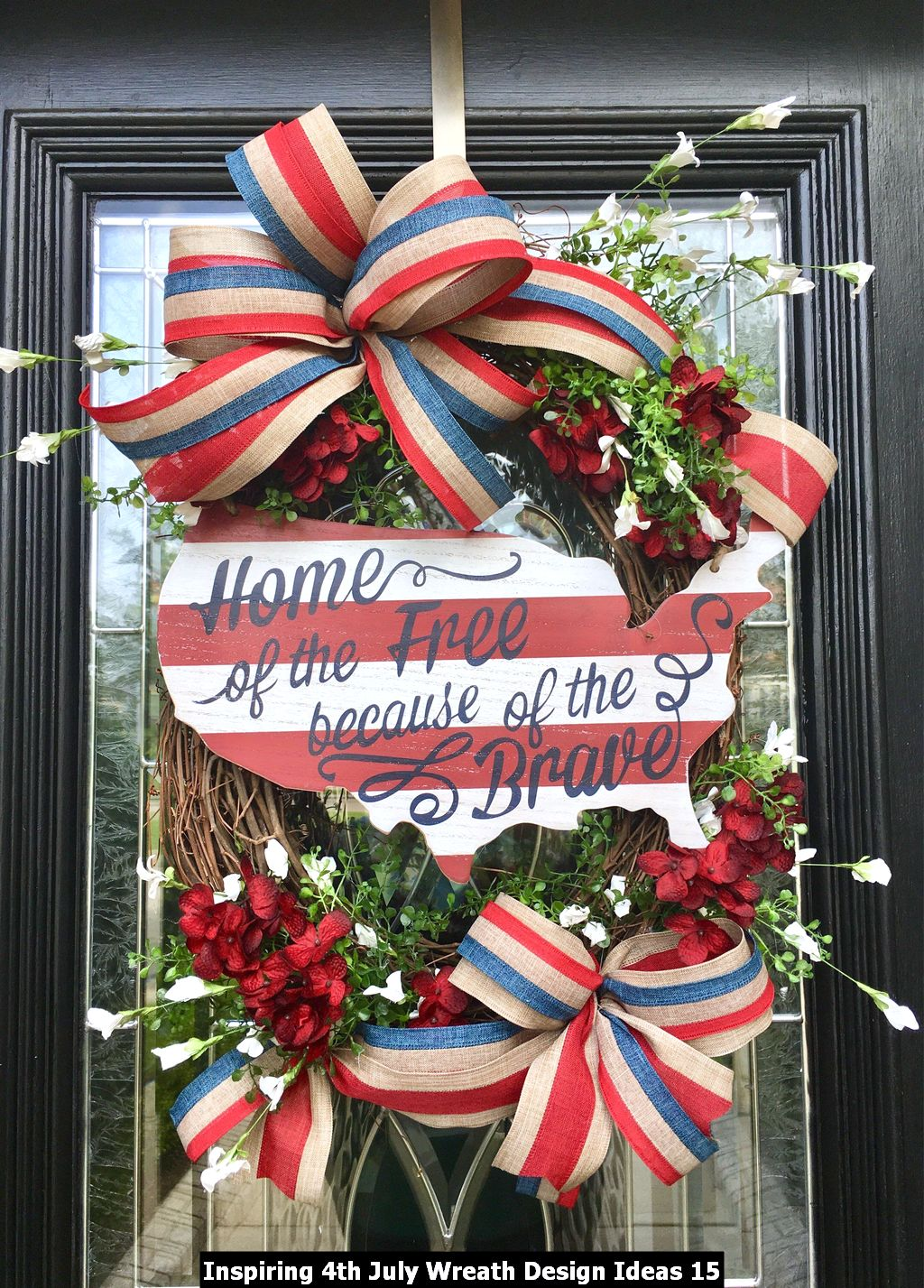 Inspiring 4th July Wreath Design Ideas 15