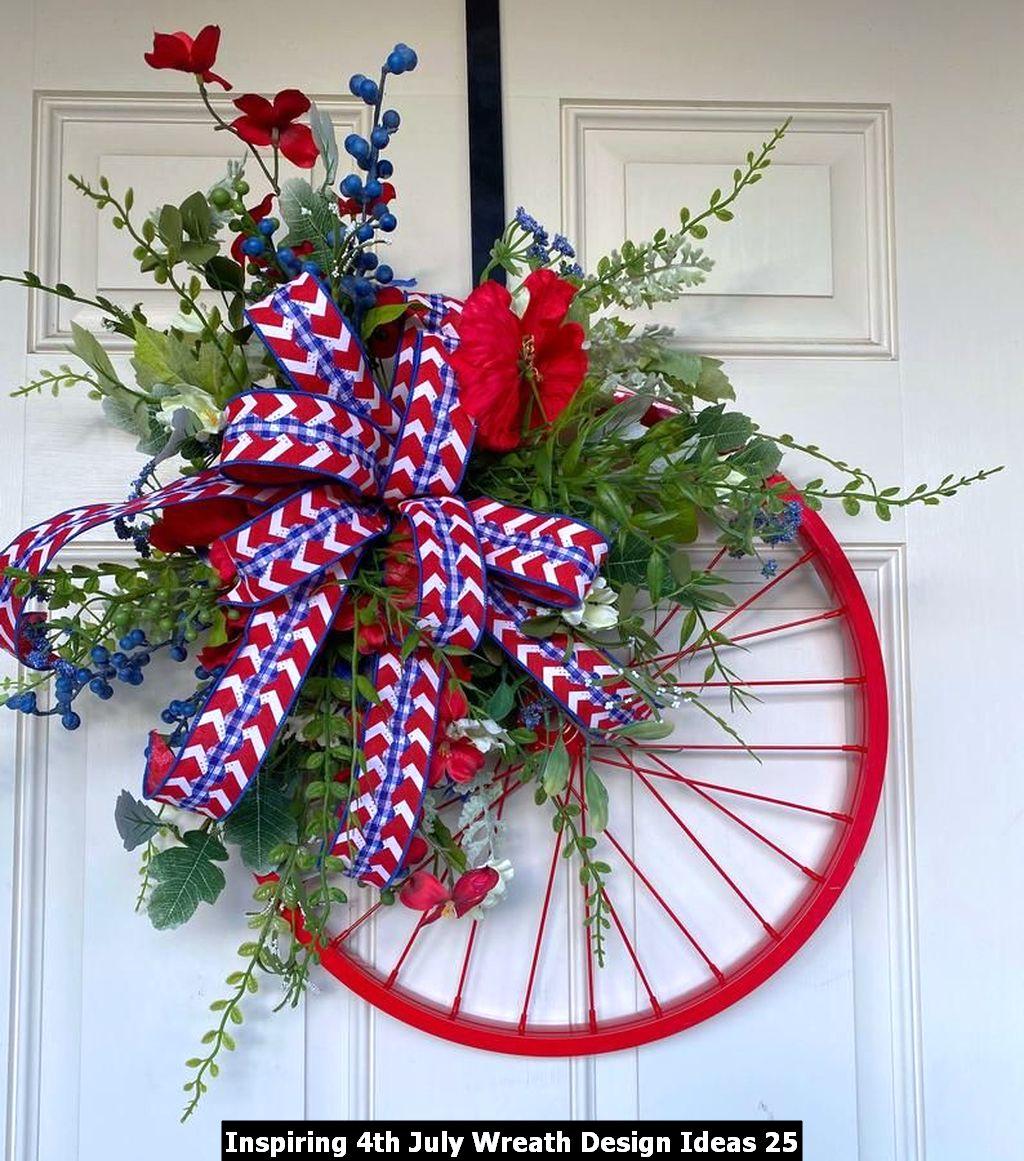 Inspiring 4th July Wreath Design Ideas 25