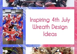 Inspiring 4th July Wreath Design Ideas