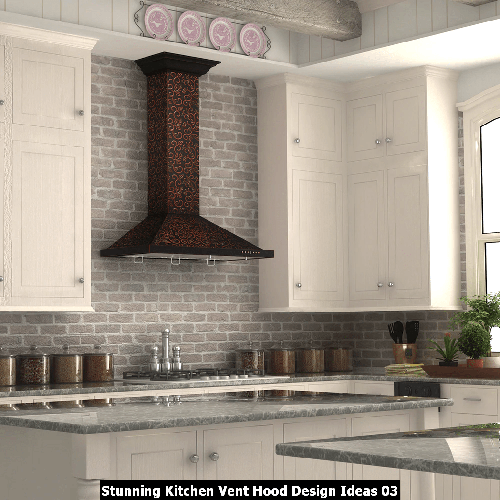Stunning Kitchen Vent Hood Design Ideas 03