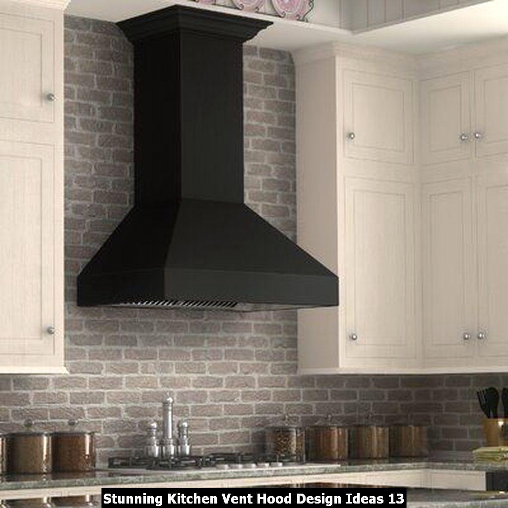Stunning Kitchen Vent Hood Design Ideas 13