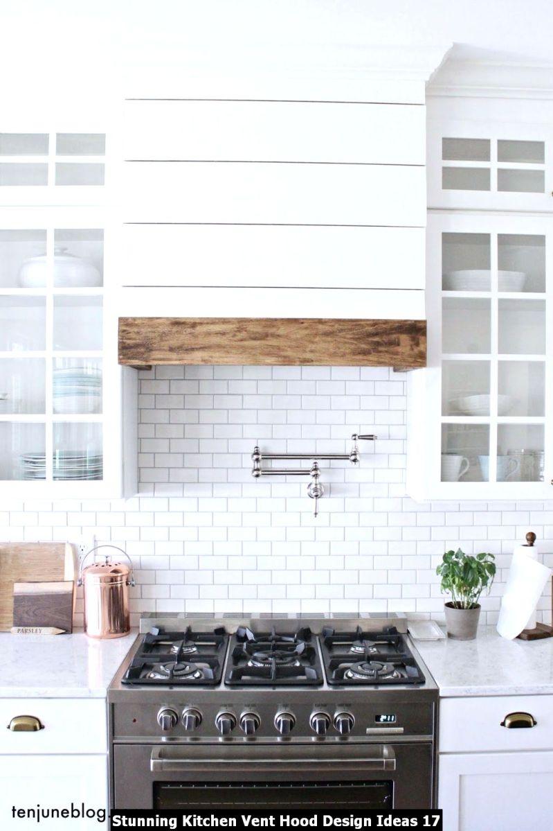 Stunning Kitchen Vent Hood Design Ideas 17