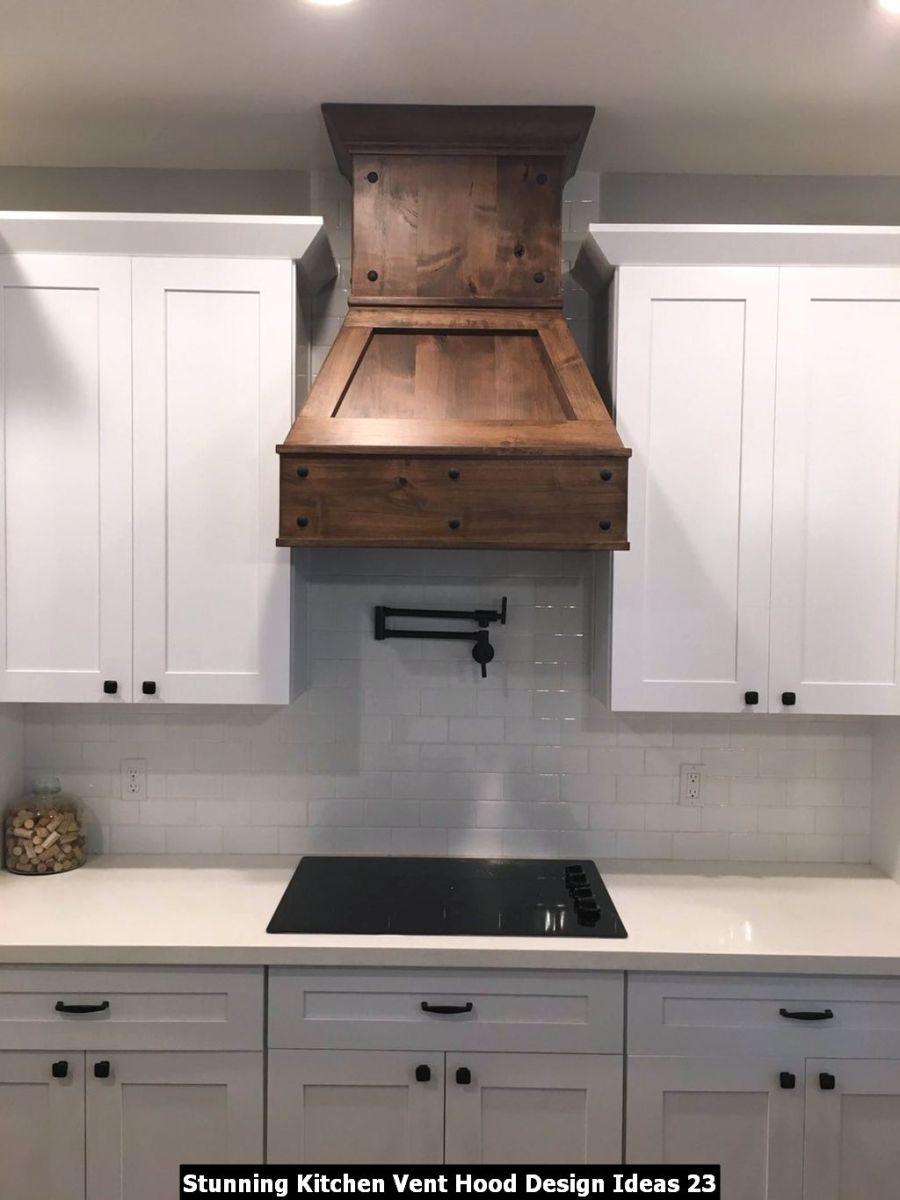 Stunning Kitchen Vent Hood Design Ideas 23