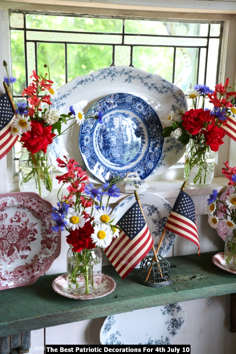 The Best Patriotic Decorations For 4th July 10