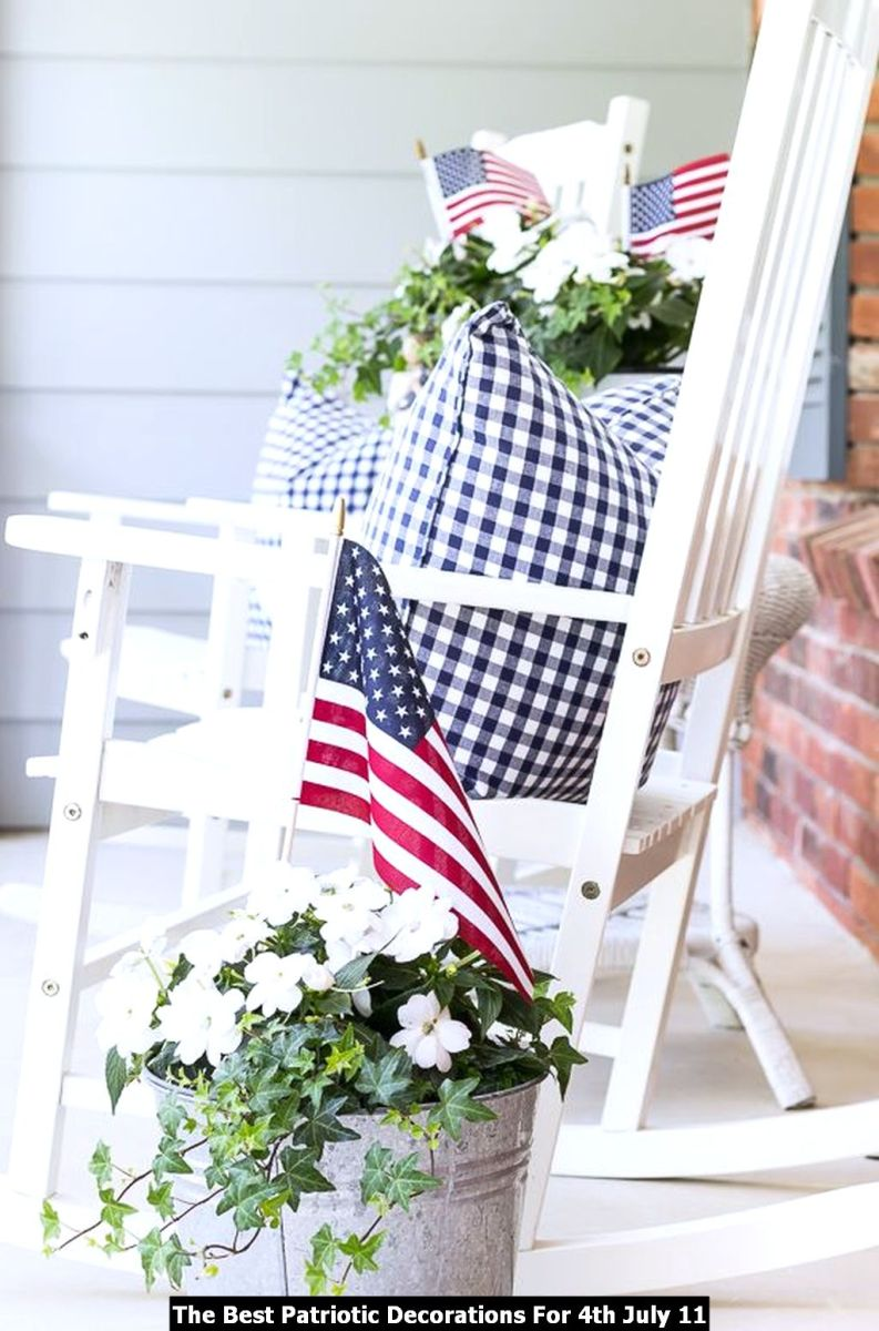 The Best Patriotic Decorations For 4th July 11